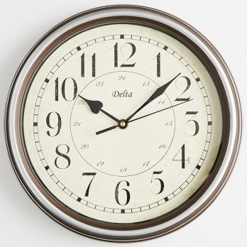 Часы настенные офисные круглые